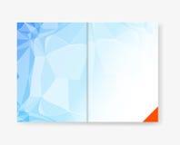 Abstract template brochure design Royalty Free Stock Photos