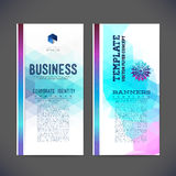 Abstract  template design, brochure, Web sites. Stock Images