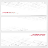 Abstract template horizontal perspective banner Stock Photography