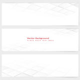 Abstract template horizontal perspective banner Stock Photo