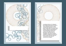 Abstract template5 Stock Photography