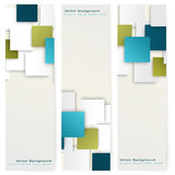 Abstract template vertical banner Stock Photography