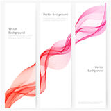 Abstract template vertical banner Stock Photo
