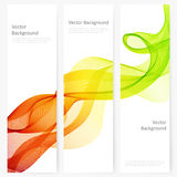 Abstract template vertical banner Royalty Free Stock Photography