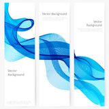 Abstract template vertical banner Stock Image