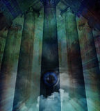 Abstract temple Stock Images