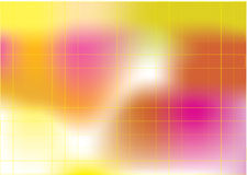 Abstract tender background. Yellow, pink and orange Royalty Free Stock Images
