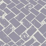 Abstract terrazzo floor weave pastel grunge stone texture. Seamless vector pattern on grey background with urban vibe royalty free illustration