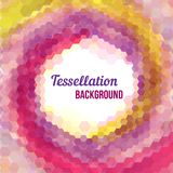 Abstract tessellation background Royalty Free Stock Photo