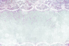Abstract text background with lace. Royalty Free Stock Photo