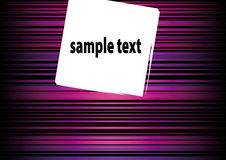 Abstract text box Stock Photography