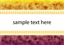 Abstract text box Stock Image