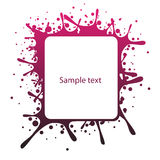 Abstract text panel