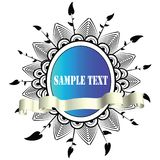 Abstract Text Panel Royalty Free Stock Photography