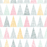 Abstract textile colorful textured triangles Stock Photo