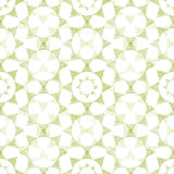 Abstract textile green triangles mosaic seamless Stock Images