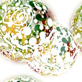 Abstract textile seamless pattern of colored dots Stock Photos