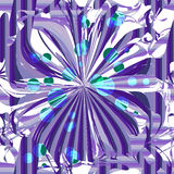 Abstract textile seamless pattern of purple lines Stock Photo