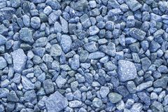 Abstract texture background copy space freshly crushed blue crushed stone stock image