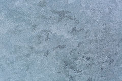 Abstract Texture background of frost rime ice pattern on glass w Royalty Free Stock Images