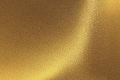 Abstract texture background, shiny scratches golden foil metal wall.  stock photo