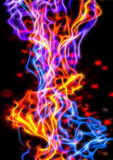Abstract flame background Stock Photography