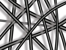 Abstract texture with black lines Stock Photography