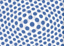 Abstract texture with blue dots on white. Stock Photo