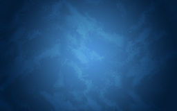 Abstract texture. Blue painted concrete wall Stock Photography