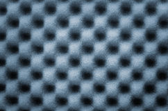 Abstract texture of blue wave sponge use for background or backdrop Royalty Free Stock Photos