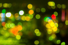Abstract texture bokeh city lights Stock Photo