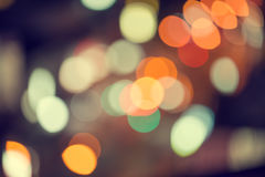 abstract texture bokeh city lights in the background Stock Photos