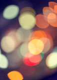 Abstract texture bokeh city lights in the background Royalty Free Stock Photography
