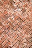 Abstract texture of brick build walkways Stock Photos
