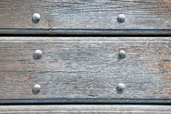 abstract texture of a brown antique  old door Royalty Free Stock Image