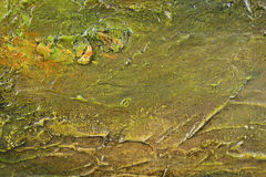 Abstract texture on canvas Stock Photo