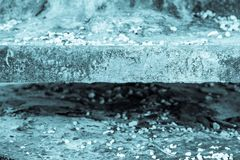 Abstract texture of the charred plate Stock Photo