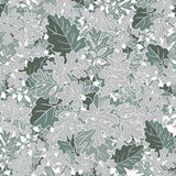 Abstract texture with cineraria. Seamless pattern with festive flower bouquet ornament. Royalty Free Stock Photo