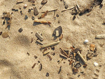 Abstract texture in cold colors of sand Stock Photo