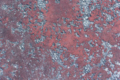 Abstract texture in concrete, creating two different colors Stock Image