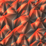 Abstract texture. Of crystals black and orange colors Royalty Free Stock Photo
