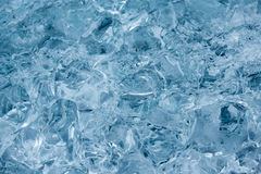 Abstract texture of ice Stock Photo