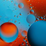 Abstract texture with multi-colored circles. Close-up Royalty Free Stock Image