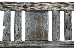 Abstract texture of old wood on white background,wooden decorati Stock Images