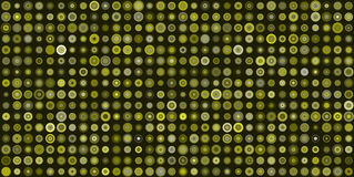 Abstract texture or pattern with dots and circles, flat Royalty Free Stock Photos