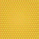 Abstract texture. Of Perforated gold metal/ honeycombs texture Royalty Free Stock Photos