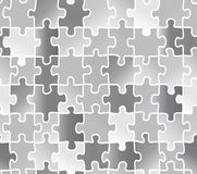 Abstract texture puzzle. silver gray color. Stock Photos