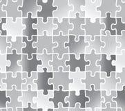 Abstract texture puzzle. silver gray color. Stock Photos