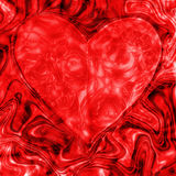 Abstract texture red heart, love. Red abstract texture with an element of the heart, love Stock Photo