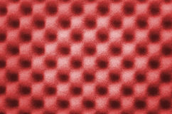 Abstract texture of red wave sponge use for background or backdrop Stock Photos